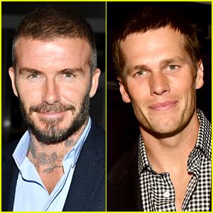Tom Brady Applauds David Beckham's Kiss on the Lips with Daughter Harper: 'So Sweet!'
