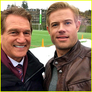 Trevor Donovan Films 'Homecoming' - See Pics From the Set!
