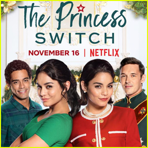 Vanessa Hudgens Debuts 'The Princess Switch' Trailer - Watch Now!