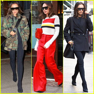 Victoria Beckham Shows Off Her Super Chic Style in NYC!