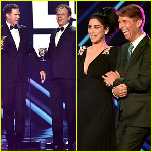 Will Ferrell & Sarah Silverman Add to Star Power at Peoples' Choice Awards 2018