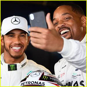 Will Smith Supports Lewis Hamilton at Abu Dhabi Grand Prix!