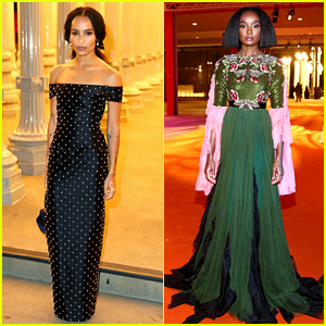 Zoe Kravitz & KiKi Layne Glam Up for LACMA Gala 2018!