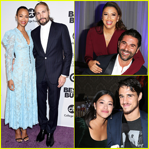 Zoe Saldana Gets Star-Studded Support at Eva Longoria Foundation Dinner Gala Honor!