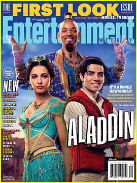 Will Smith as the Genie in 'Aladdin' - First Look Photo!