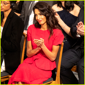 Amal Clooney Steps Out Solo for Nobel Peace Prize Ceremony 2018!