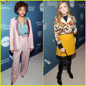 Amandla Stenberg & Elsie Fisher Step Out For THR's Power 100 Women In Entertainment Event