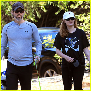 Amy Adams & Husband Darren Le Gallo Enjoy a Family Hike