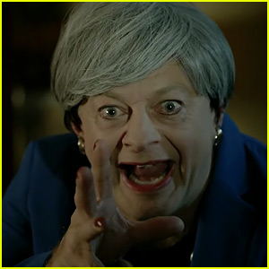 Andy Serkis Brings Back Gollum for Spoof of British PM Theresa May - Watch Now!