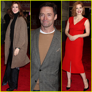 Anne Hathaway, Hugh Jackman, & Jessica Chastain Join So Many Stars at 'Mockingbird' Broadway Opening
