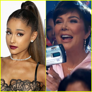 Ariana Grande Loves That Kris Jenner Can't Stop Saying 'Thank U, Next'