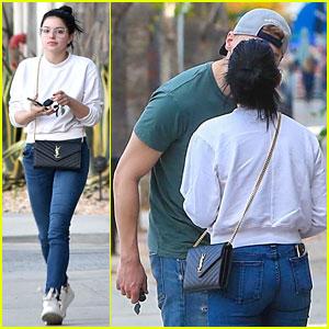 Ariel Winter & Boyfriend Levi Meaden Share a Smooch While Out in LA