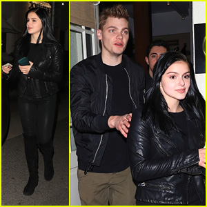 Ariel Winter & Levi Meaden Have Date Night Out at Madeo in LA
