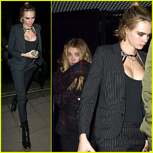 Ashley Benson Celebrates Her 29th Birthday with Cara Delevingne & Celeb Friends!