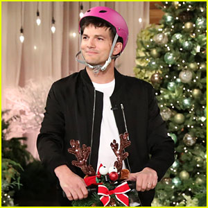 Ashton Kutcher Feels Pressure When Walking by Ellen DeGeneres' House! (Video)