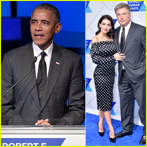 Former President Barack Obama Makes Surprise Appearance at Ripple of Hope Awards 2018!