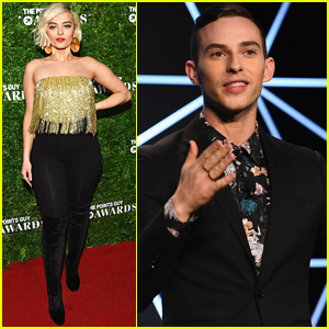 Bebe Rexha & Adam Rippon Step Out for Points Guy Awards in NYC!