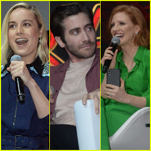 Brie Larson, Jake Gyllenhaal, & Jessica Chastain Bring Their Marvel Movies to CCXP 2018 in Brazil!