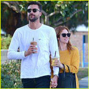 Brittany Snow & Boyfriend Tyler Stanaland Hold Hands on Coffee Date!