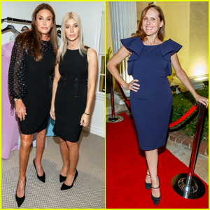 Caitlyn Jenner & Sophia Hutchins Show Support at Badgley Mischka Flagship Opening!