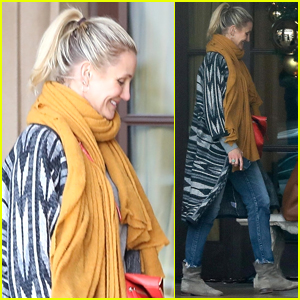 Cameron Diaz is All Smiles Stepping Out for Lunch!