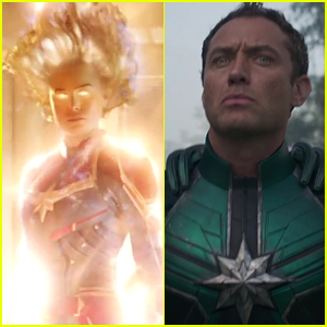 Brie Larson & Jude Law Star in Epic 'Captain Marvel' Trailer!