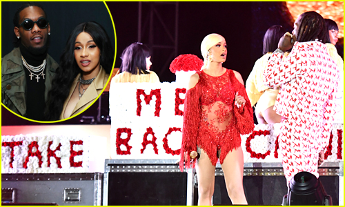 Cardi B Breaks Silence After Offset Crashes Her Performance to Try & Win Her Back