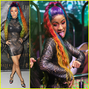 Cardi B Lives It Up at Art Basel Miami After Announcing Split from Offset!