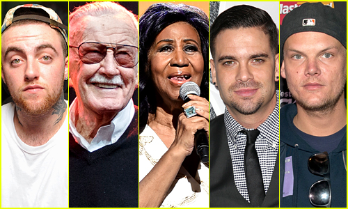 In Remembrance: Celebrity Deaths in 2018