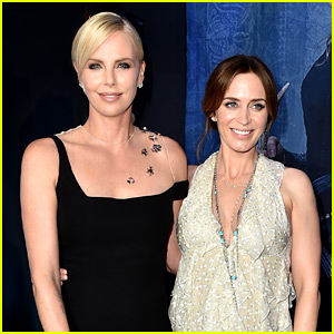 Charlize Theron Is Clearly Excited for 'Mary Poppins Returns'