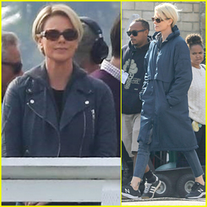 Charlize Theron Sports Shorter Hair as Megyn Kelly for Roger Ailes Movie