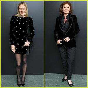 Chloe Sevigny & Susan Sarandon Step Out for Saint Laurent 'Belle De Jour' Screening!
