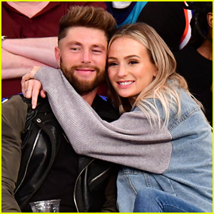 Chris Lane & Lauren Bushnell Kiss in Courtside Seats at Knicks Game!