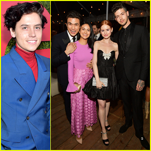 Cole Sprouse Joins His 'Riverdale' Co-Stars at GQ Men of the Year Party 2018!
