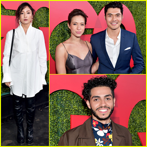 'Crazy Rich Asians' Stars Henry Golding & Constance Wu Reunite at GQ Men of the Year 2018!
