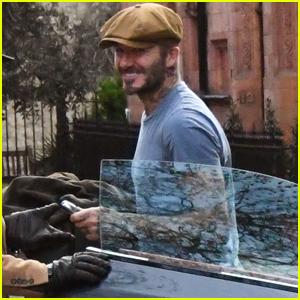 David Beckham Drives His New Aston Martin Around London!