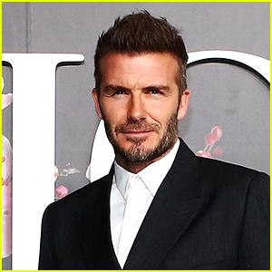 David Beckham Posts a Shirtless Fireside Selfie for Christmas!