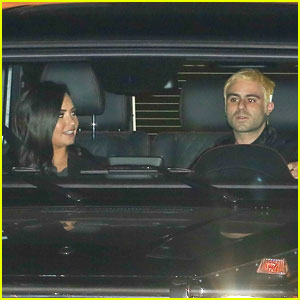 Demi Lovato & Henry Levy Seen Kissing on Date Night
