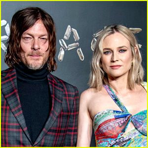 Norman Reedus Shares First Glimpse of His & Diane Kruger's Daughter!