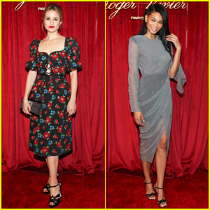 Dianna Agron & Chanel Iman Have Special Evening at Hotel Vivier!