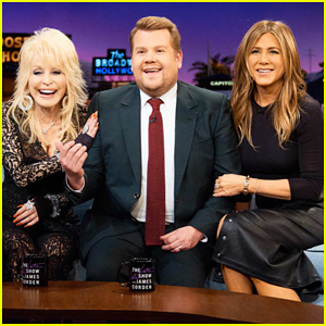 Dolly Parton Ranks 'Friends' Guys Next To Jennifer Aniston on 'Late Late Show' - Watch Here!