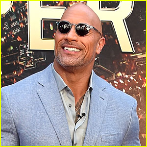 Dwayne 'The Rock' Johnson Proudly Displays His 'Baywatch' Razzie Award!