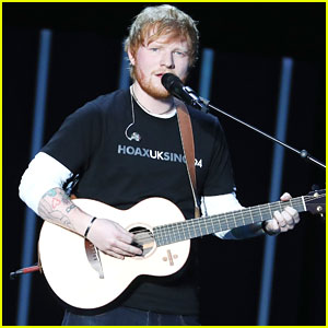 Ed Sheeran Shares Rare Photo With Cherry Seaborn