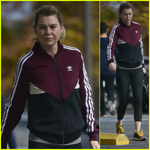 Ellen Pompeo Heads Out to Run Errands After Christmas
