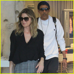 Ellen Pompeo & Husband Chris Ivery Kick Off Their Weekend With Beverly Hills Date