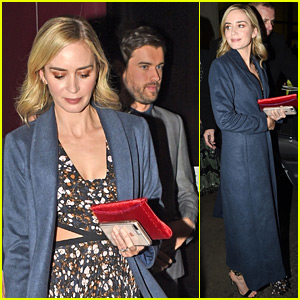 Emily Blunt Has Dinner with 'Jungle Cruise' Co-Star Jack Whitehall in London