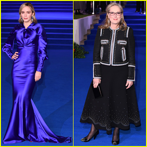 Emily Blunt & Meryl Streep Hit Blue Carpet at 'Mary Poppins Returns' European Premiere!