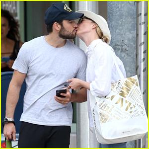 Emily VanCamp & Josh Bowman Share Honeymoon Kisses in Miami!