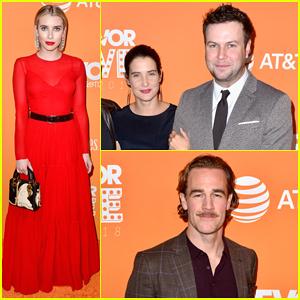 Emma Roberts, Cobie Smulders & James Van Der Beek Support Trevor Project at TrevorLIVE LA 2018