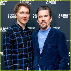 Ethan Hawke & Paul Dano Team Up for 'True West' Broadway Photo Call